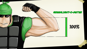 Muscles And Bullets Steam Greenlight Logo