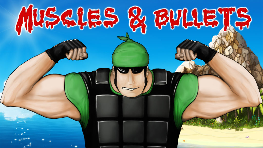 "Muscles And Bullets"" has been released in Steam early access!"